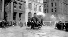 """Part I: The Last Run """"Once more, the picturesque is to yield to the utilitarian. That thrilling sight – three plunging horses drawing engine or hook and ladder – one of the few thrilling sights to be seen in our prosaic streets, is soon to become a thing of the past. Within the next five …"""