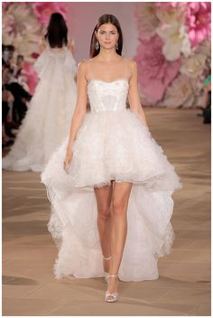 Wedding dress by Ines Di Santo from the Spring/Summer 2017 Collection. Image by Randy Brooke/Getty Images for Ines Di Santo.