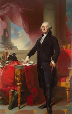 Portrait of George Washington by Thomas Sully 1820