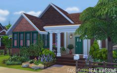 Nora's House #lot #sims4