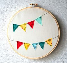 love clever, alternative embroidery hoop art