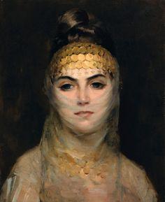 Theodoros Ralli, 1852-1909, GREEK-ODALISQUE