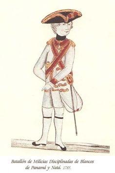 Batallón de Milicias de Blancos de Nata 1785