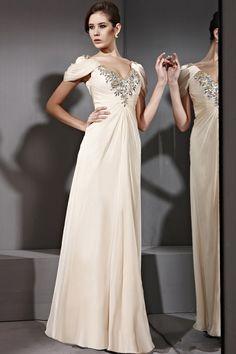 Rochie de seara lunga ivory    http://ilsegno.ro