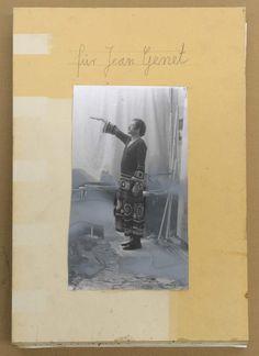 Anselm Kiefer, Für Jean Genet, Titelblatt, 1969, Fotograf: Charles Duprat, Paris © Anselm Kiefer.