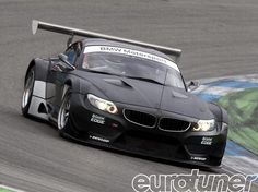 This is pure madness. Raw speed and aggression and look how mean the BMW Z4 GT3 is on the track. #video #spon