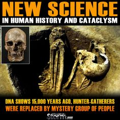 Stillness in the Storm : New Science In Human History and Cataclysm | DNA Shows 15,000 Years Ago, Hunter-gatherers Were Replaced by Mystery Group of People - 2/11/2016 - #ANCIENTHISTORY #DNA #SCIENCE #NEWHUMANS #DISCLOSURE #SITS #STILLNESSINTHESTORM  Long Link: http://sitsshow.blogspot.com/2016/02/new-science-in-human-history-and.html