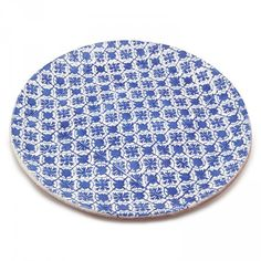 Granada Charger Plate 35.5cm Blue D2 Front