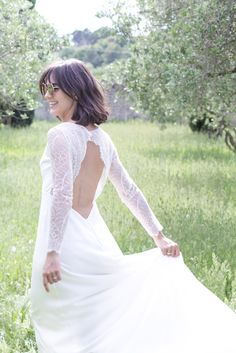 Jeanne, Marie, Dress Ideas, Wedding Dresses, Provence, Inspiration, Fashion, Short Updo Wedding, Civil Ceremony