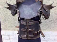 Traveler LEATHER ARMOR COMPLETE Set by AGLeatherDesign on Etsy