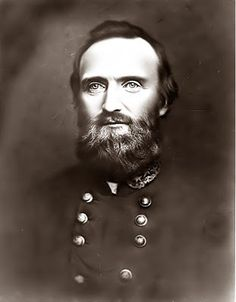 """General Thomas Jonathan """"Stonewall"""" Jackson. Jackson remains a hero in the South to this day. He is remembered for helping to turn the tide at Bull Run, and sending the Union Army into a panic retreat back to Washington DC."""