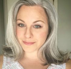 grey hair is authentic and beautiful on women. Grey hair comes in all shades and colours and is very individual. Grey Hair Young, Grey Hair Over 50, White Blonde Highlights, Silver Haired Beauties, Grey Hair Don't Care, Hair Care, Grey Hair Inspiration, Gray Hair Growing Out, Transition To Gray Hair