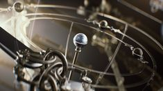 Orrery — concept art for movie titles on Behance