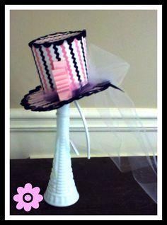 Mini Top Hat Fascinators / Headband OR a la carte by DazzleMePink, $35.00
