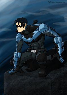 Nightwing by ~sham93 on deviantART