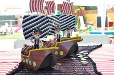Pirate ship Template Instant Download por kutzypartyboutique