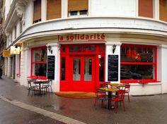 Le Bon Plan de Lise pour boire un verre à #Strasbourg : La solidarité ! Ce bar est très sympa... difficile de résister à la tentation des frites pendant les Happy Hours !