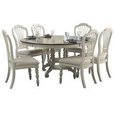 August Grove Mertie 7 Piece Dining Set & Reviews | Wayfair