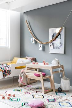 We have for child a Beautiful Toddler Table. It's Playful Design Table for a child years old. Made from solid Finnish wood and Playwood. Designed by Rafa-kids. Toddler Table, Toddler Playroom, Kid Table, Table Desk, Play Table, Girl Room, Girls Bedroom, Bedroom Decor, Kid Bedrooms