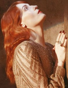 for-redheads: Florence Welch Florence The Machines, Florence And The Machine, Ewok, Style Florence Welch, Florence Welch Hair, How Beautiful, Beautiful People, Perfect People, Beautiful Voice