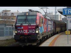 "ZSSK 383.110 ""MACEJKO"" ► IC 520 ► Trnava - YouTube Bratislava, Train, Youtube, Instagram, Zug, Strollers, Trains"