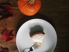 Easy as pie: pumpkin cheesecake recipe from Olly and the Bee.