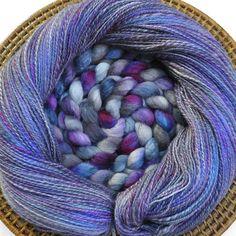 Roving to yarn
