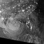Beautiful Satellite Capture of Tropical Storm Isaac at Night by NASA Goddard Center