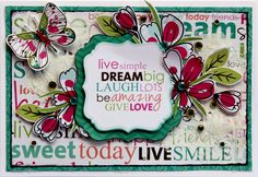 Dream Big - Kaisercraft Fly Free Collection - Scrapbook.com