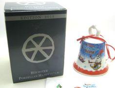 Weihnachtsglöckchen Ü EI Von 2005 2014 Aus Porzellan Höchster Weimar Porzellan   eBay