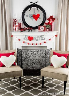Random Thoughts From An Incoherent Mind Valentine S Day Decorating