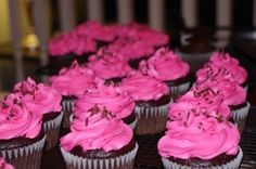 Hot Pink Icing!!!