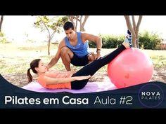 Pilates em Casa - Aula Nº2 - NÍVEL INICIANTE - YouTube