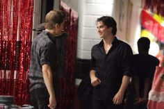 "Behind the scenes of ""The Vampire Diaries"" 2x02 Brave New World #TVD"