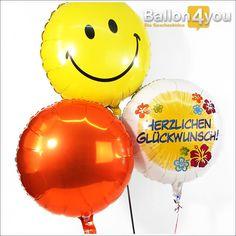 Schenken Sie gute Laune und die besten Glückwünsche! Beides ist in diesem bunten Ballonbukett reichlich enthalten. Egal, ob Sie zum Geburtstag, der bestandenen Prüfung oder anderen Anlässen gratulieren, mit diesem Ballonbukett liegen Sie stets genau richtig.