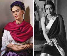 Ocher Art: Frida Kahlo and Amrita Shergil- Two Peas in a Pod