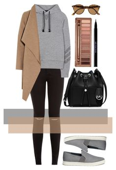 """""""Untitled #540"""" by ssm1562 ❤ liked on Polyvore featuring Y-3, Harris Wharf London, Vince, MICHAEL Michael Kors, Urban Decay, Ray-Ban, women's clothing, women's fashion, women and female"""