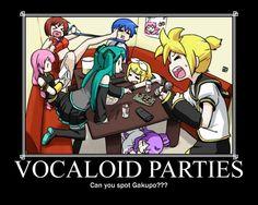 VOCALOID parties
