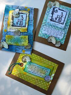 Summertime Seashells Cards