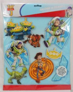 Disney Toy Story 3D Wall Stickers Buzz Woody Kids Bedroom Novelty Christmas Gift #Disney #Childrens  #Disney #ToyStory #3D #WallStickers #Buzz #Woody #Kids #Bedroom #Novelty #Christmas #Gift #Disney