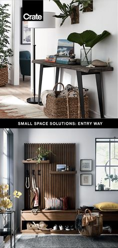 We've rounded up all of our favorite furniture and storage solutions to help you create a functional and stylish entryway.