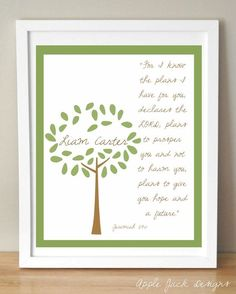 Scripture for baby's room