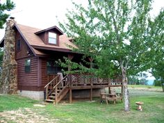 CliffHouse, overlooking the Arkansas Grand Canyon, Jasper AR    this is Eagle Cabin, also managed by CliffHouse, quiet, great views, scenic location, very restful