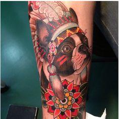 Tattoo, dog. i seriously wanna get my Dutchess tattooed on me! i love her to death!