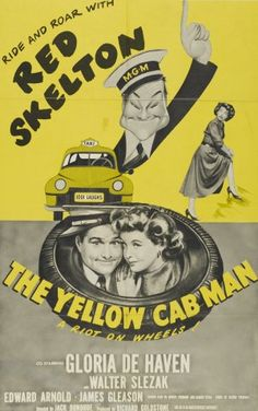 The Yellow Cab Man with Red Skelton 2 Movie, Love Movie, Movie Theater, Movie Info, Man Movies, Comedy Movies, Films, Gloria Dehaven, Red Skelton