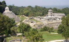 Ancient Ruins, Historic Sites, National Parks Palenque Chiapas Mx