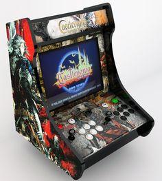 bartop arcade | Proyecto Castlevania Arcade Machine , Nueva bartop de elreypescador