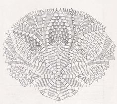 * Beautiful crochet napkins - all in openwork . (crochet) - Home Moms Crochet Doily Diagram, Crochet Diy, Crochet Chart, Crochet Home, Filet Crochet, Crochet Motif, Crochet Doilies, Lace Doilies, Crochet Thread Patterns