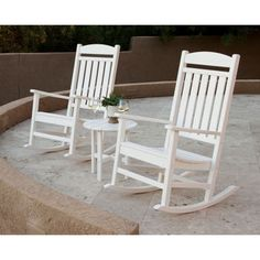 Same as mine on the front porch except white  Classics 3-piece Rocker Set by Ivy Terrace™