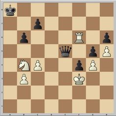 Chess & Strategy Test. White to move. How can White save this game?